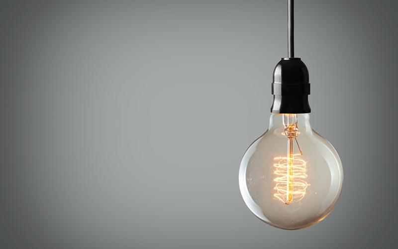 Beleuchtung von Schildern und Werbeanlagen