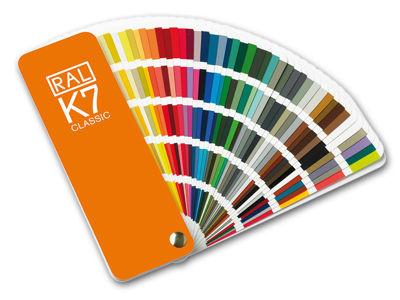 Schauen Sie sich die verschiedenen RAL-Farbpaletten an