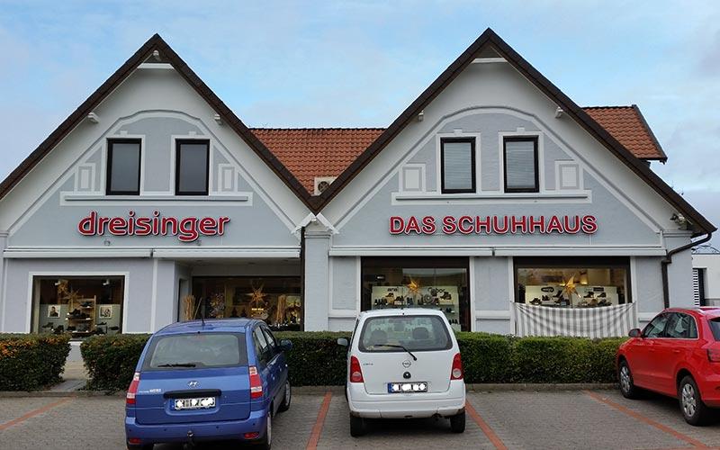 LED Einzelbuchstaben Dreisinger