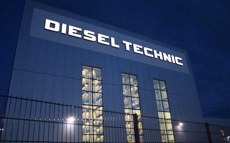 LED Einzelbuchstaben Diesel Technic
