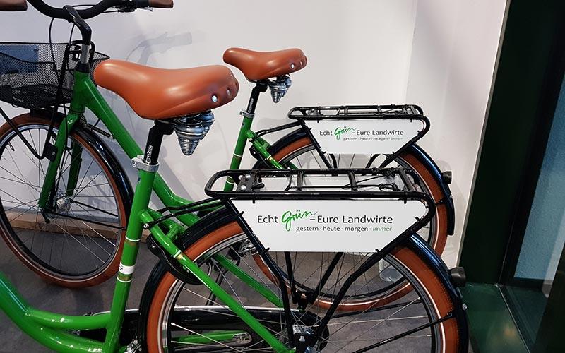 Fahrradschilder für Landvolk