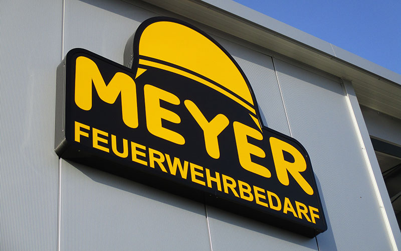 LED Leuchttransparent für Meyer Feuerwehrbedarf