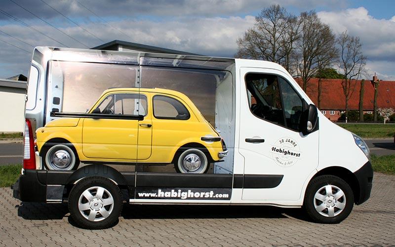 Teilfolierung Renault Master