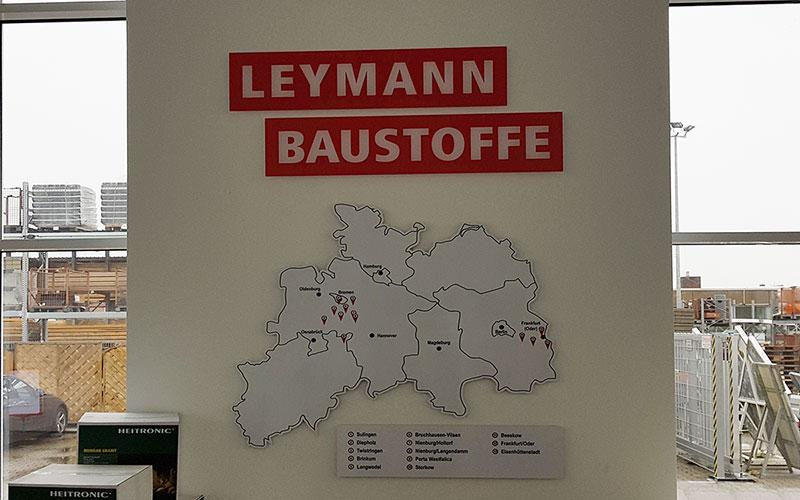 Leymann Baustoffe in Nienburg