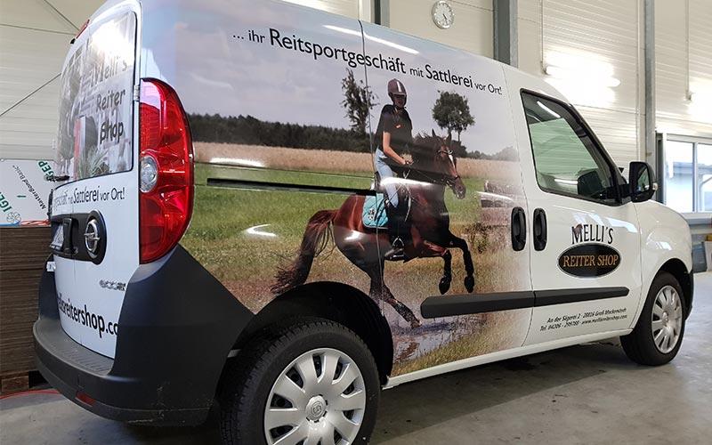 Fiat Kangoo für Mellis Reitershop