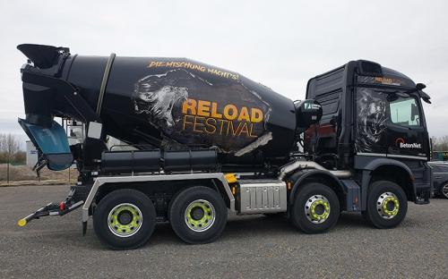 Reload Festival Betonmischer