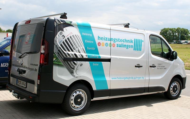 Eine Kombination vieler Techniken auf Renault Trafic